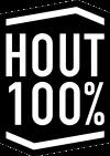 Hout 100% logo