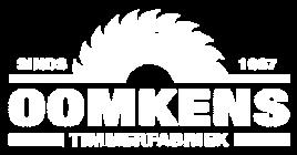 logo Timmerfabriek Oomkens BV wit